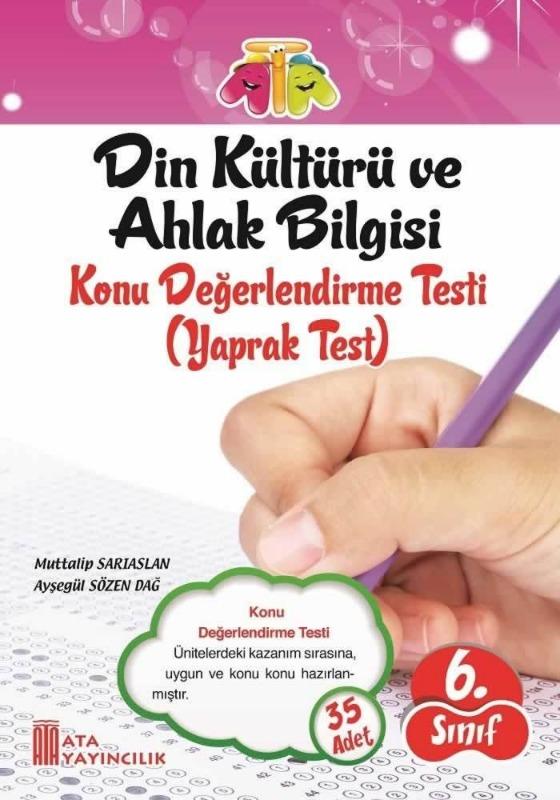6.Sınıf Din Kültürü ve Ahlak Bilgisi Yaprak Testi Ata Yayınları