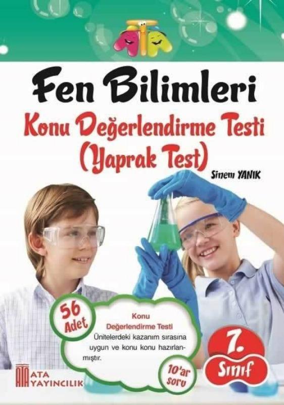 7.Sınıf Fen Bilimleri Yaprak Test Ata Yayınları