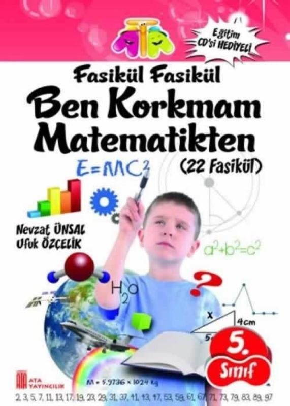 5.Sınıf Ben Korkmam Matematikten Fasikül Ata Yayınları
