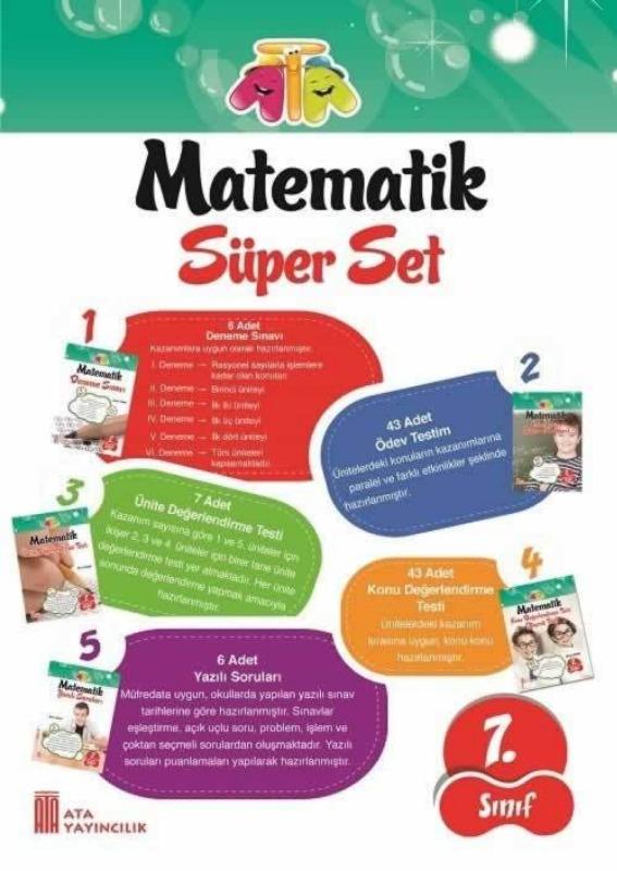 7.Sınıf Matematik Süper Set Ata Yayınları