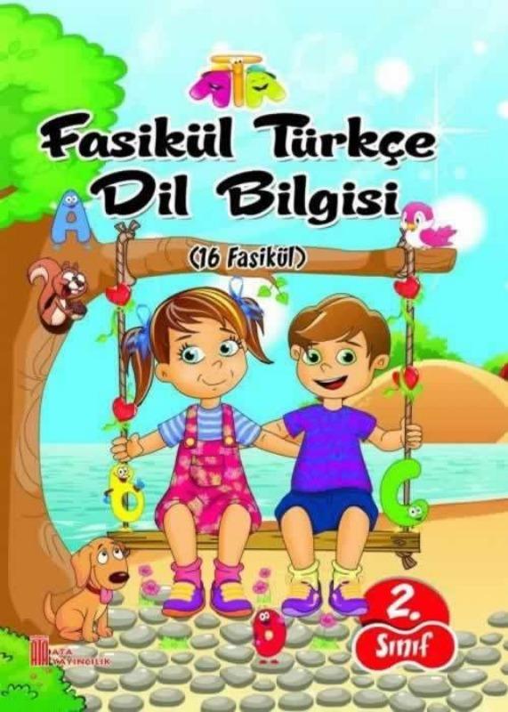 2.Sınıf Türkçe Dil Bilgisi Fasikül Ata Yayınları