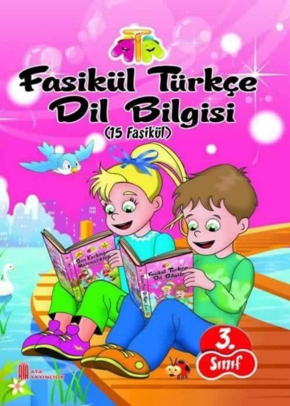 3.Sınıf Türkçe Dil Bilgisi Fasikül Ata Yayınları