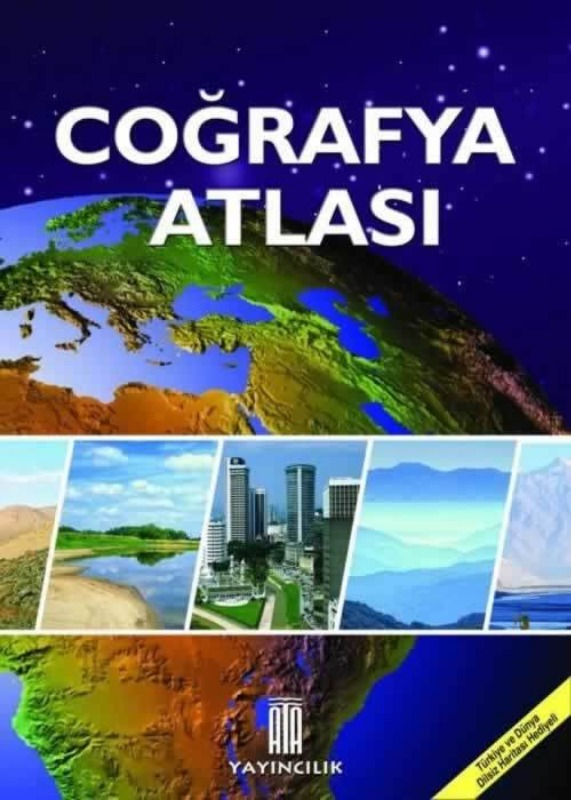 Ata Coğrafya Atlası Ata Yayınları