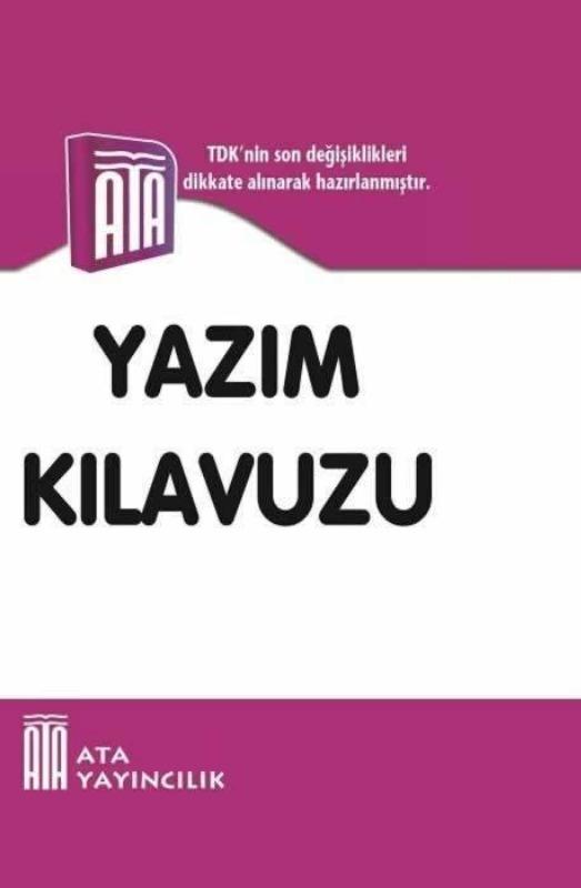 Yazım Kılavuzu Ata Yayınları