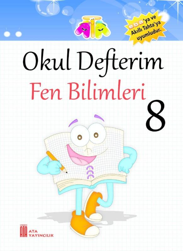 8.Sınıf Okul Defterim Fen Bilimleri Ata Yayınları