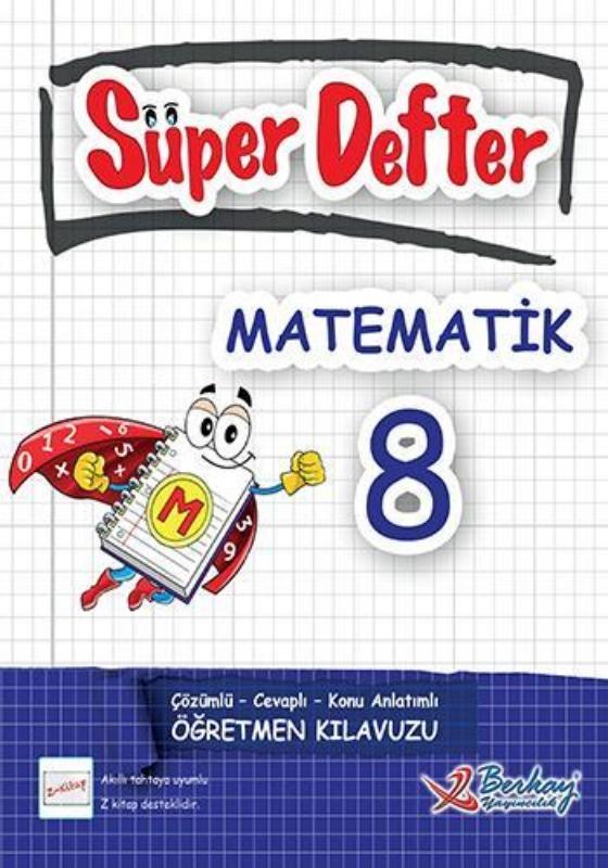 8.Sınıf Matematik Süper Defter Berkay Yayınları