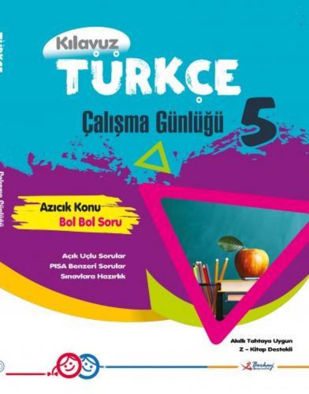 5.Sınıf Türkçe Çalışma Günlüğü Berkay Yayınları