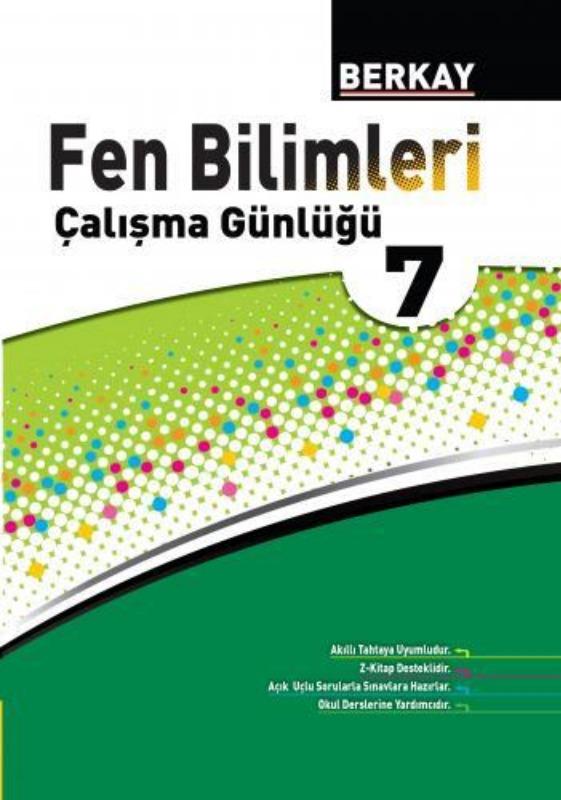 7.Sınıf Fen Bilimleri Çalışma Günlüğü Berkay Yayınları