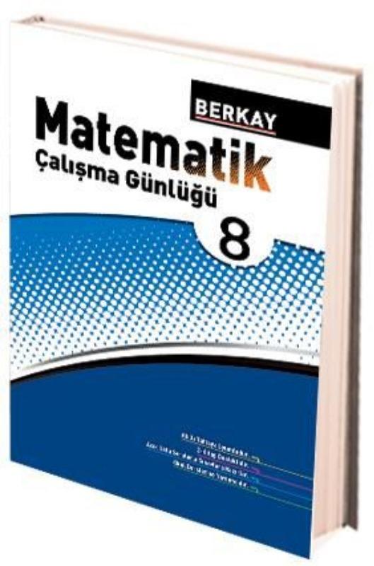 8. Sınıf Matematik Çalışma Günlüğü Berkay Yayınları