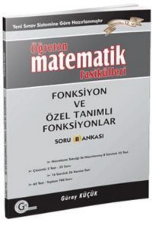 Fonksiyon ve özel tanımlı fonk b Gür Yayınları