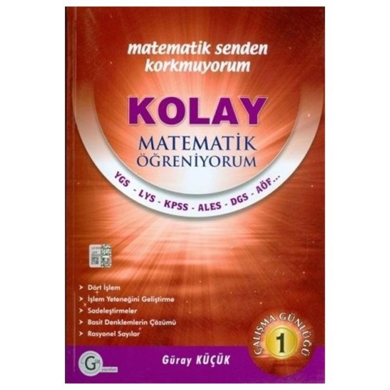 Kolay matematik öğreniyorum 1 Gür Yayınları