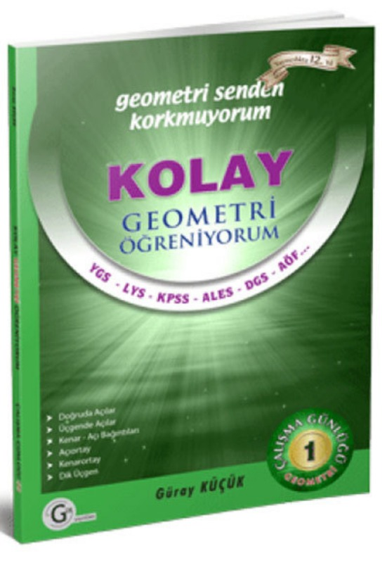 Kolay geometri öğreniyorum 1 Gür Yayınları