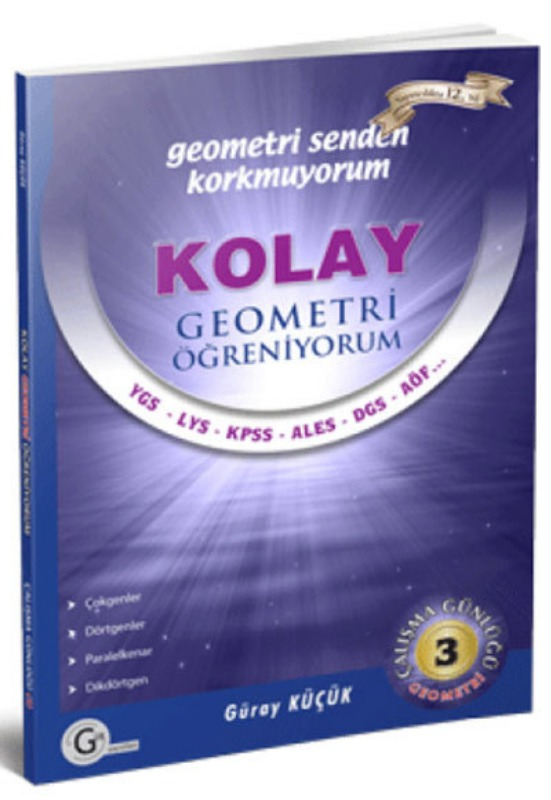 Kolay geometri öğreniyorum 3 Gür Yayınları