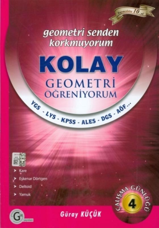Kolay geometri öğreniyorum 4 Gür Yayınları