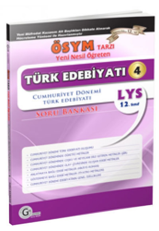 Cumhuriyet dönemi soru bankası Gür Yayınları