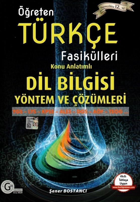 Türkçe dilbilgisi yöntem ve çözümleri Gür Yayınları
