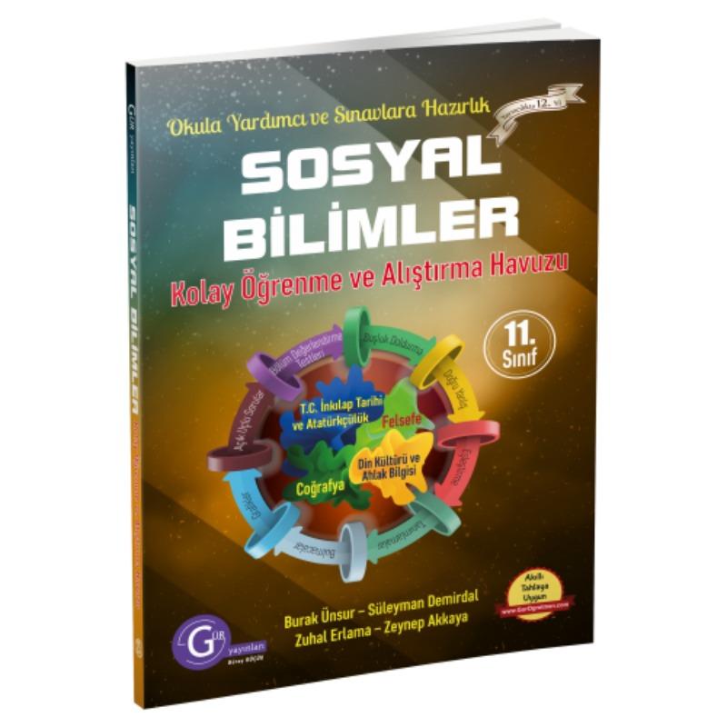 11.sınıf sosyal bilimler Set Gür Yayınları