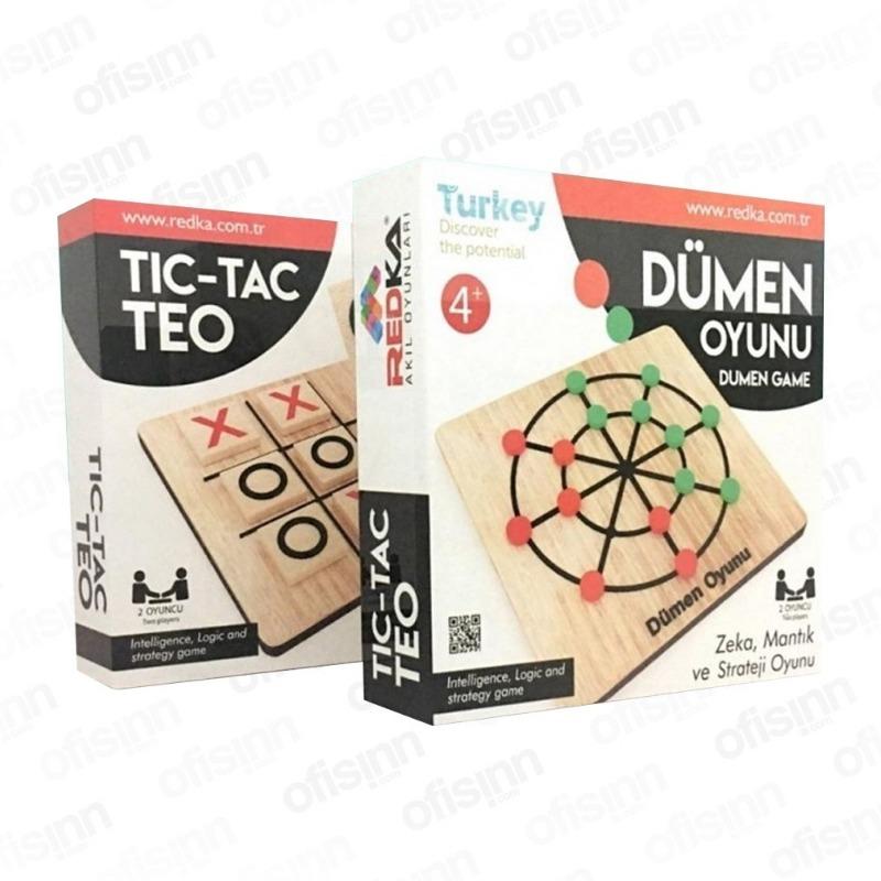 Tic Tac Teo Dümen  Oyunu Redka Akıl