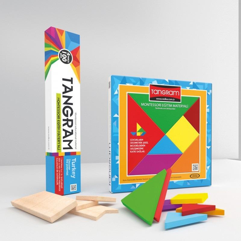 Renkli Tangram Redka Akıl Oyunları