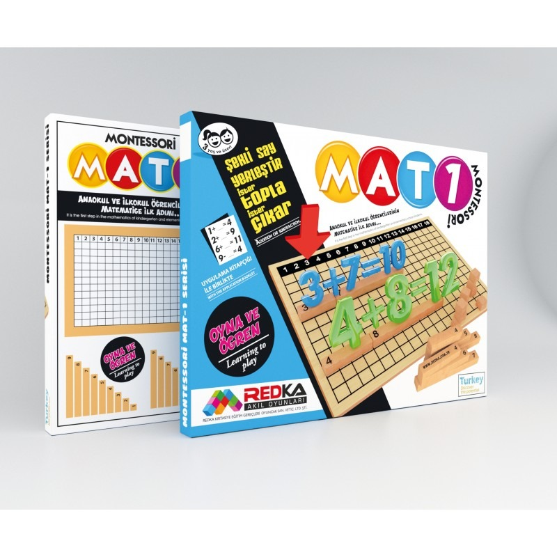Montessori Mat 1 Redka Akıl Oyunları