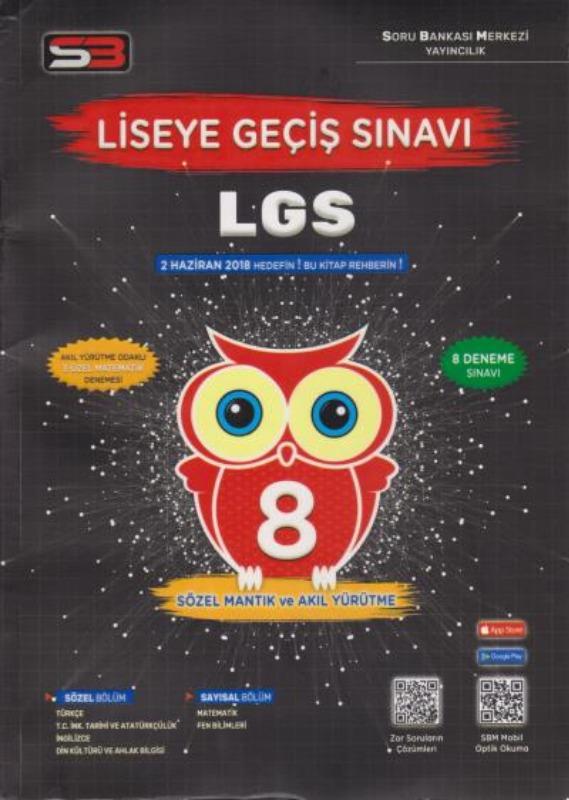 Soru Bankası Merkezi 8.Sınıf LGS Deneme Sınavı