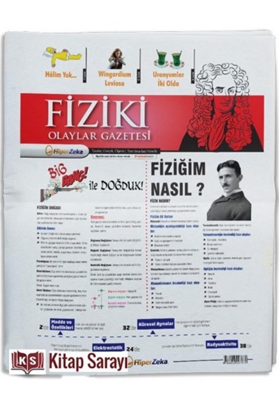 Hiper Zeka Yayınları Tüm Sınavlar İçin Fiziki Olaylar Fizik Gazetesi
