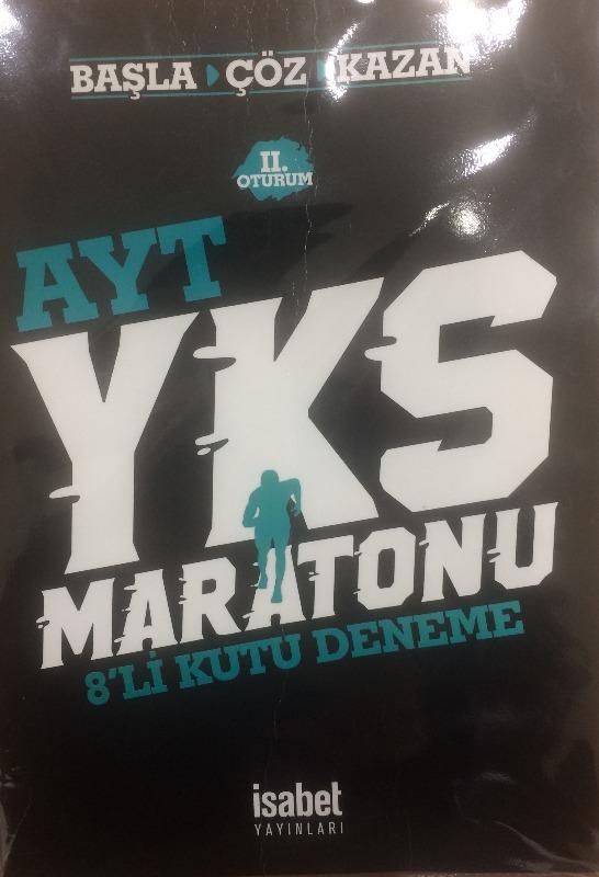 Ayt Yks Maratonu 8 Li Deneme İsabet Yayınları 8 li Deneme