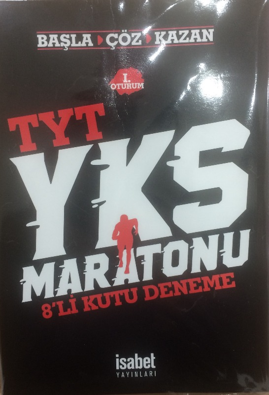 Tyt Yks Maratonu Başla Çöz Kazan 8 Li Kutu Deneme İsabet Yayınları I. Oturum
