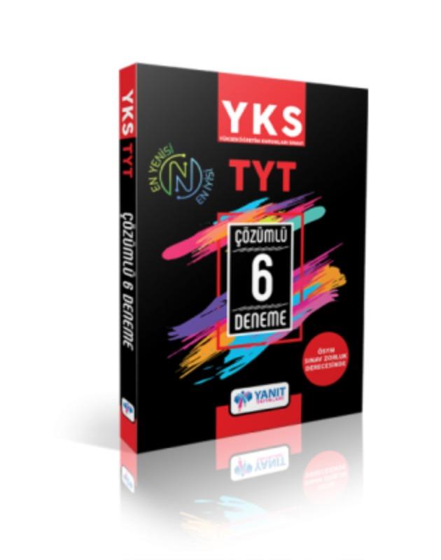 TYT Çözümlü 6 Deneme Yanıt Yayınları