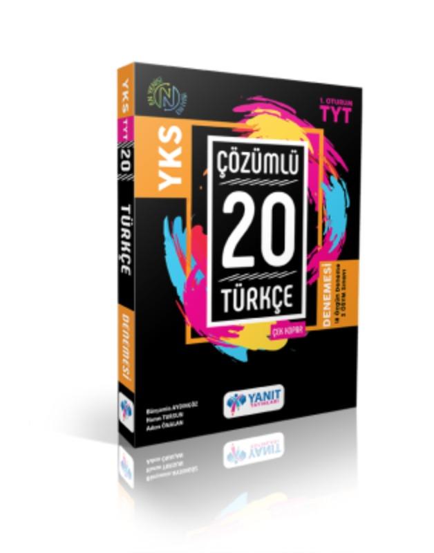 YKS Çözümlü 20 Türkçe Çek Kopar Denemesi Yanıt Yayınları