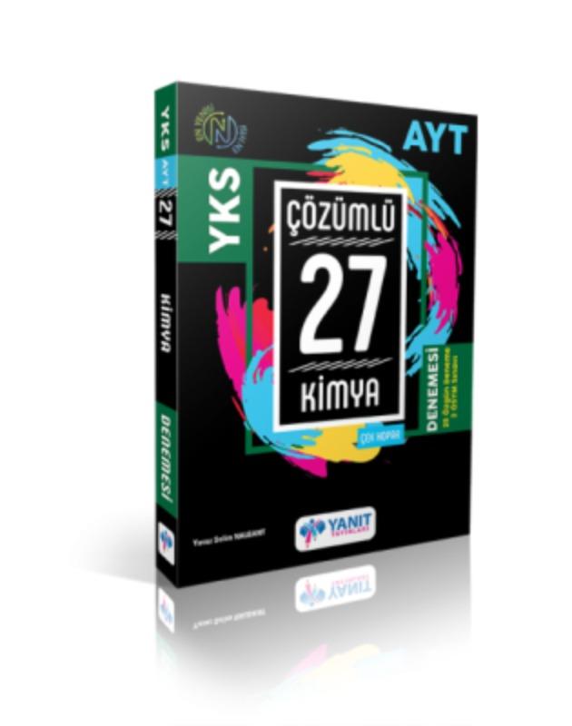 YKS AYT 27 Çözümlü Kimya Denemesi Yanıt Yayınları