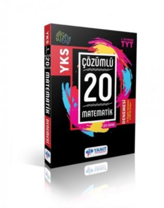 YKS Çözümlü 20 Matematik Çek Kopar Denemesi Yanıt Yayınları