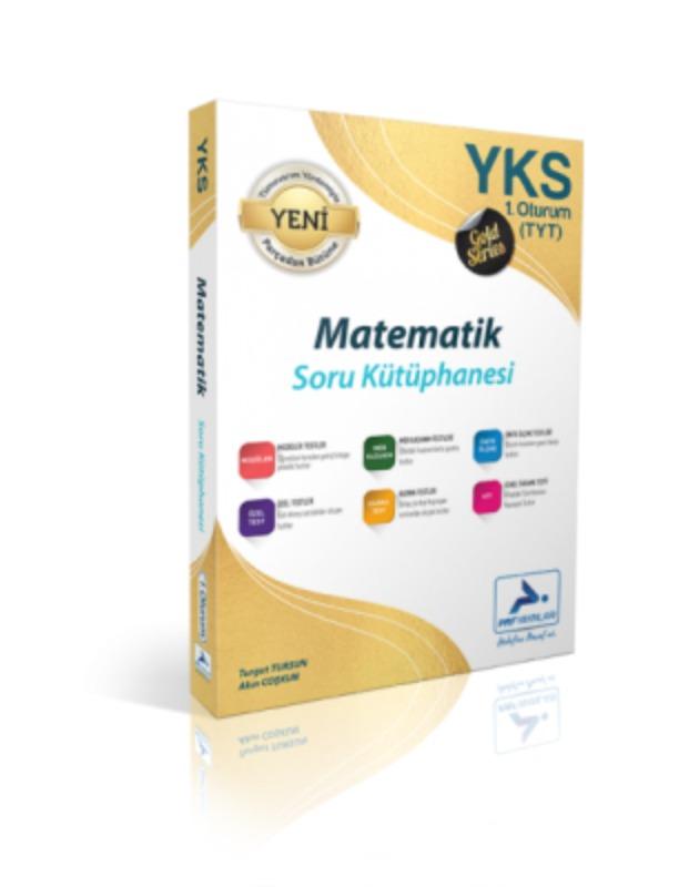 YKS 1. Oturum TYT Gold Matematik Soru Kütüphanesi Paraf Yayınları