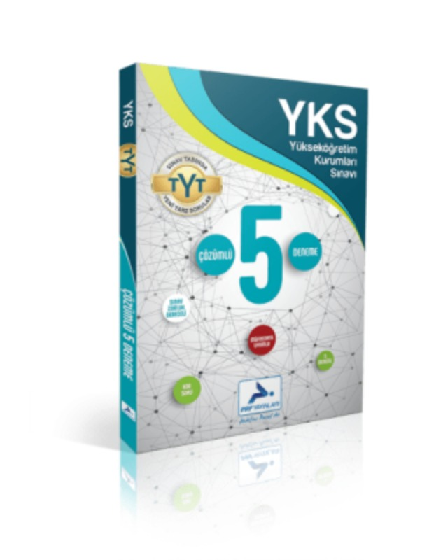 YKS Çözümlü 5 Deneme Paraf Yayınları
