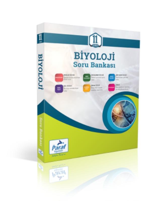 11. Sınıf Biyoloji Soru Kütüphanesi Paraf Yayınları