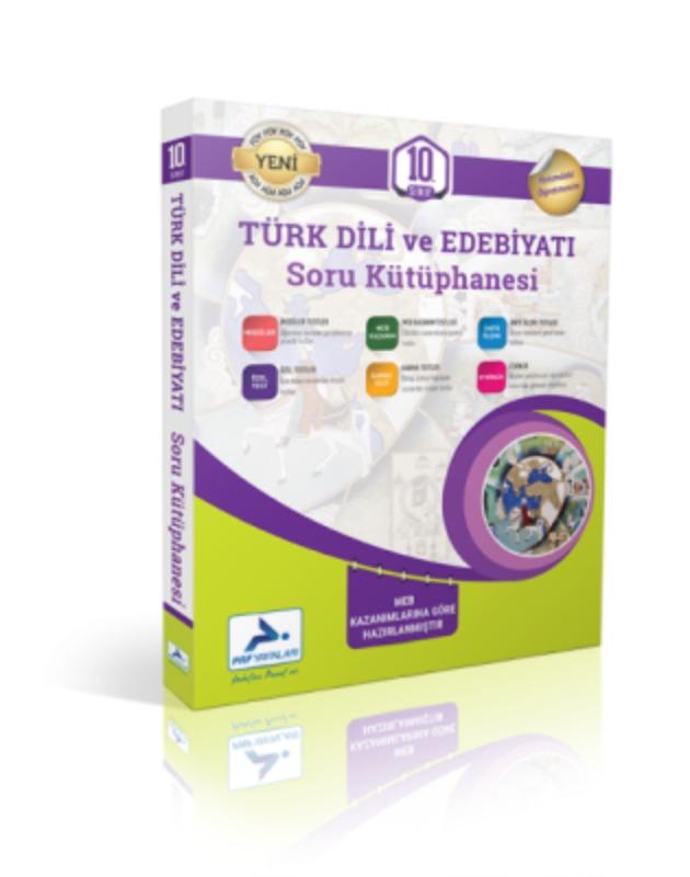 10. Sınıf Türk Dili Ve Edebiyatı Soru Kütüphanesi Paraf Yayınları