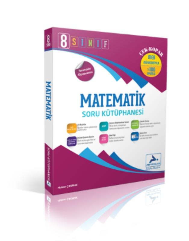 8. Sınıf Matematik Soru Kütüphanesi Paraf Yayınları