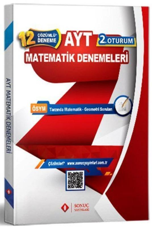 AYT Matematik Çözümlü 12 Deneme Sonuç Yayınları