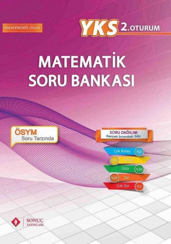 YKS 2.Oturum Matematik Soru Bankası Sonuç Yayınları