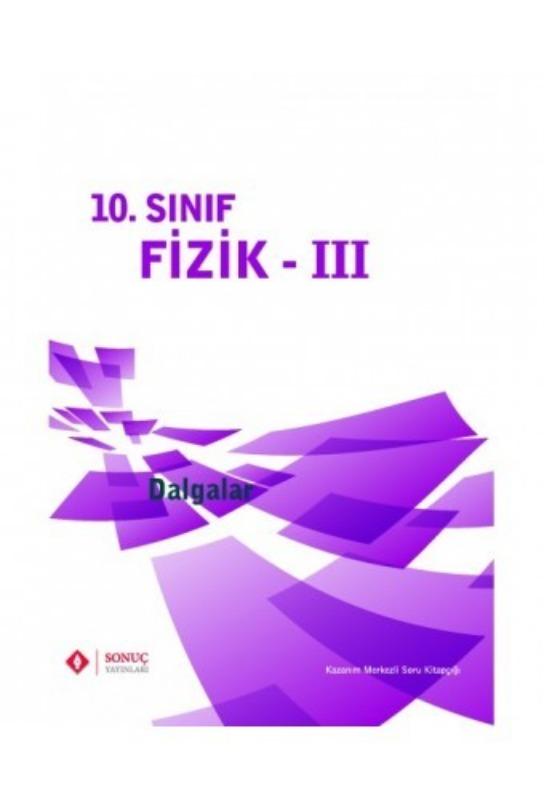 10.Sınıf Fizik III Dalgalar Sonuç Yayınları