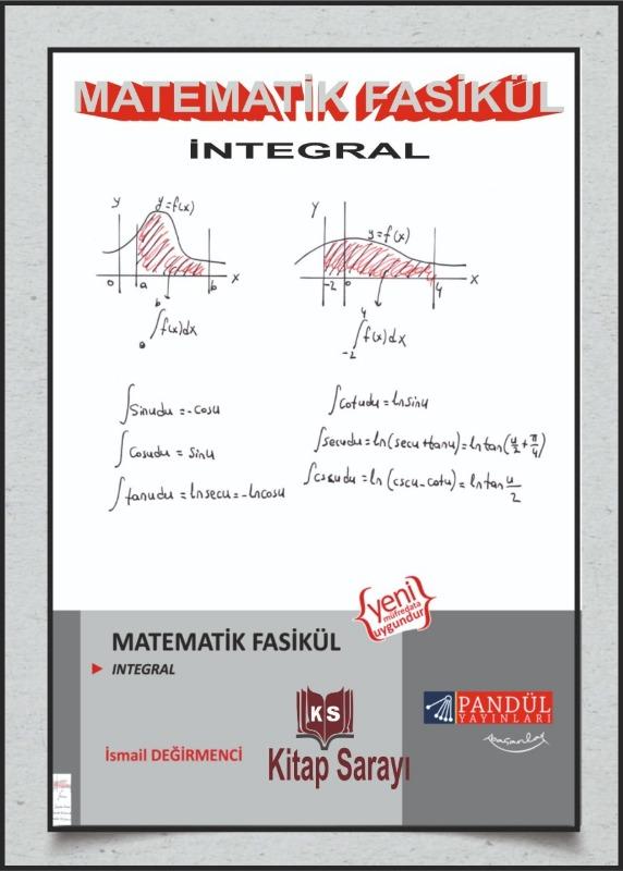 Pandül Yayınları Matematik İntegral Fasikül