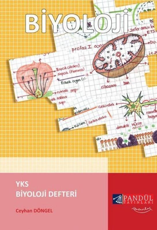 Pandül Yayınları YKS Biyoloji Defteri