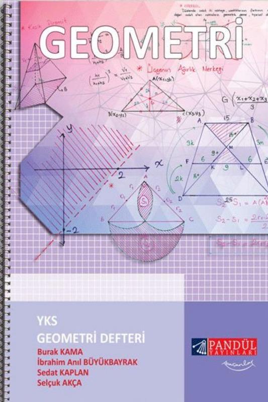 Pandül Yayınları YKS Geometri Defteri