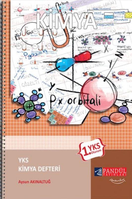 Pandül Yayınları YKS 1.Oturum Kimya Defteri