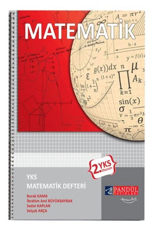 Pandül Yayınları YKS 2.Oturum Matematik Defteri