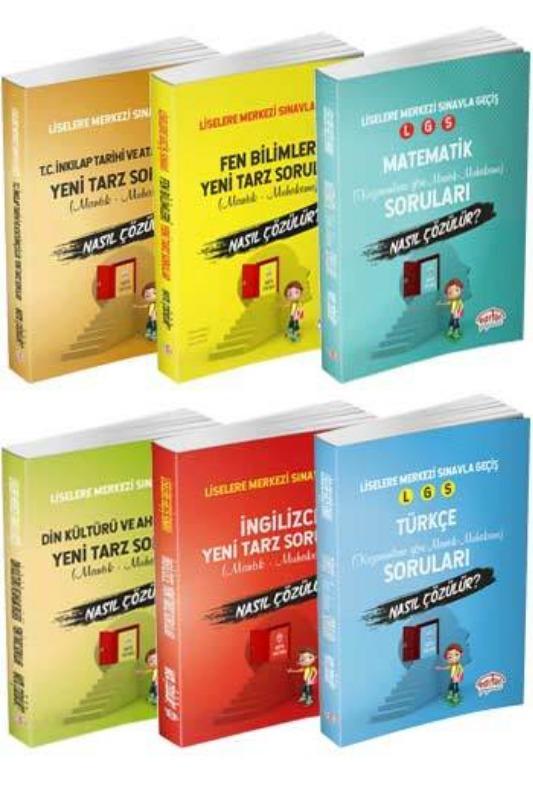 Liselere Geçiş Sınavı Mantık ve Muhakeme Soruları Kazandıran 6 Lı Editör Yayınları