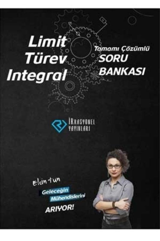 Limit Türev İntegral Tamamı Çözümlü Soru Bankası İrrasyonel Yayınları