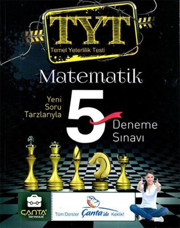 YKS 1.Oturum TYT Matematik 5 Deneme Sınavı Çanta Yayınları