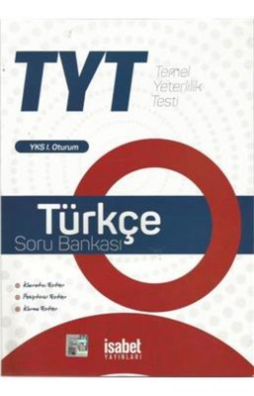 Yks Tyt Türkçe Soru Bankası İsabet Yayınları