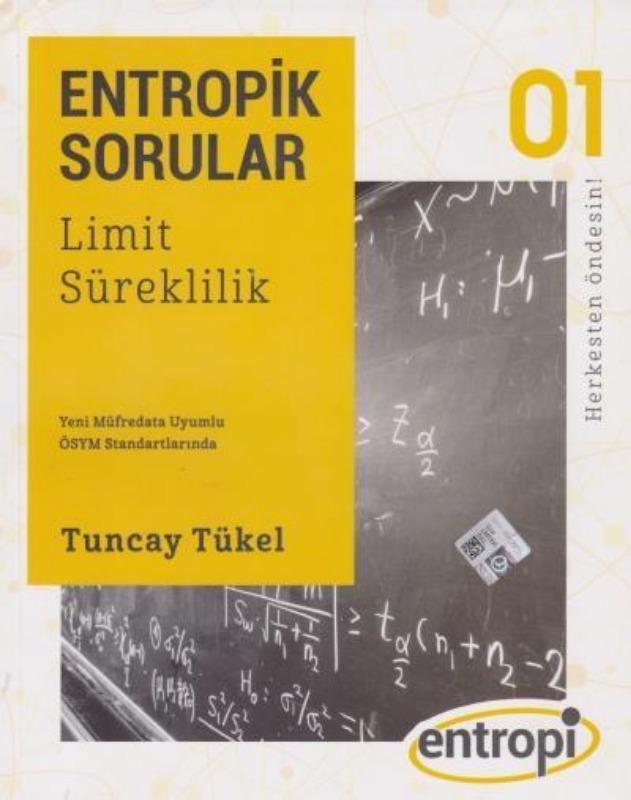 Entropik Sorular Limit ve Süreklilik  Entropi Yayınları Tuncay Tükel